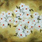 Blomsterhav 60x80 cm
