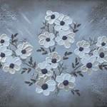 Blomsterhav II 60x80 cm