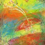 Fargenes blomst II 60x80 cm