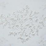Perlemorsblomster 100x120 cm