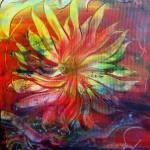 Solens blomst 50x60 cm