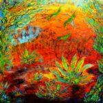 Desert Colors 80x80 cm